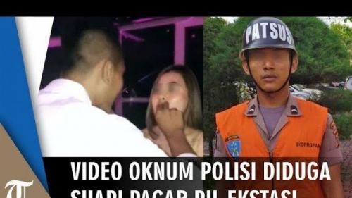 Suapkan Ekstasi ke Pacar di Karaoke, Bripda Muhammad Reza Ditahan Propam Polda