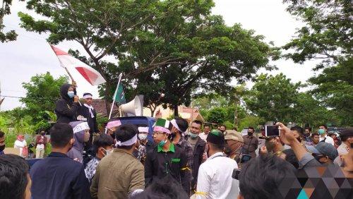 Datangi DPRD Meranti, GAMALI Sampaikan 13 Tuntutan