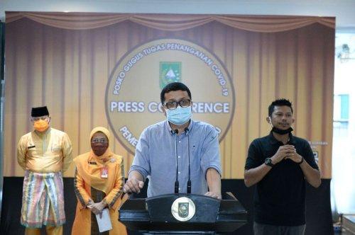 Tambah Tiga Orang, Positif Covid-19 di Riau Jadi 243 Kasus, Dua Diantaranya OTG