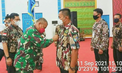 Antonius Ridaryono Terpilih Aklamasi Ketua GM FKPPI PC 0410 Pelalawan