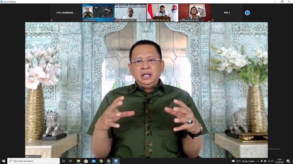 Ketua MPR RI Bilang Prestasi Olahraga Indonesia Meroket di Era Menpora Amali