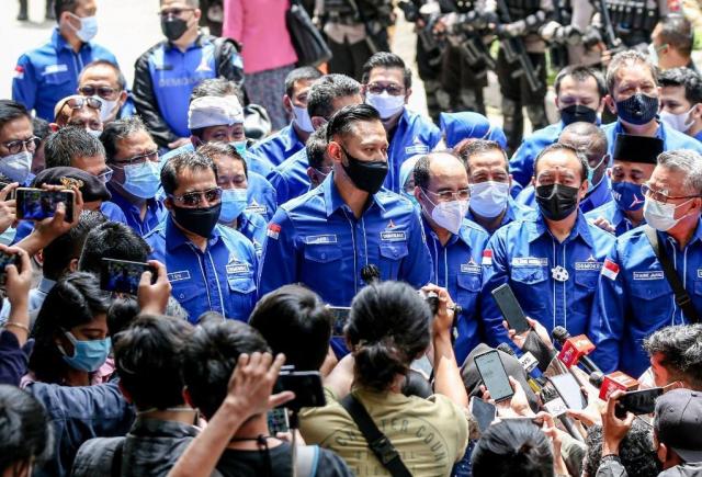 AHY: Waspadai 'Putar Balik' Fakta Hukum oleh Moeldoko Cs di Pengadilan TUN