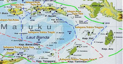Ambon dan Seram Disebut Bakal Lenyap Terseret ke Palung Laut Sedalam 7 Kilometer, Begini Penjelasan BNPB