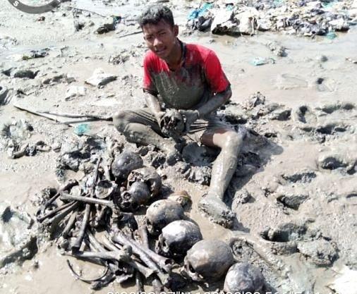 Viral di Facebook Penemuan Belasan Tulang Belulang di Wilayah Panipahan, Ternyata ini Faktanya