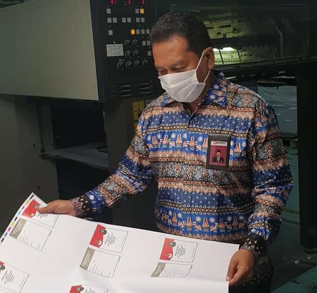 Jelang Hari Pemilihan, Bawaslu Riau Kawal Percetakan Hingga Distribusi Surat Suara