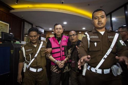 Kejagung Tahan 5 Tersangka Korupsi Jiwasraya di Rutan Berbeda