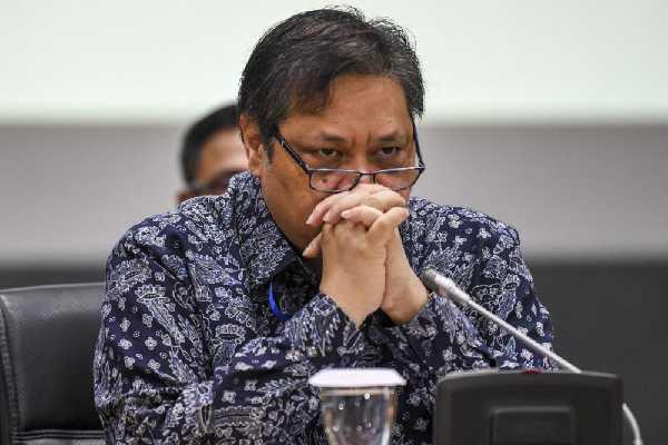 Menko Perekonomian Airlangga Sebut Pencucian Uang di Indonesia Tergolong Tinggi
