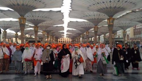 896 Jamaah Haji Embarkasi Batam Bergeser dari Madinah ke Makkah