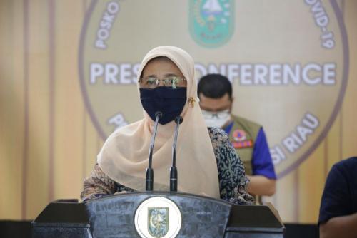Positif Covid-19 di Riau Hari Ini Bertambah 29 Jadi 918 Kasus