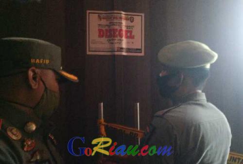 Tempat Hiburan Malam Star City Club and KTV Pekanbaru Disegel
