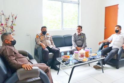 Tingkatkan Sinergitas, Kapolres Andi Yul Temui Pimpinan DPRD Meranti