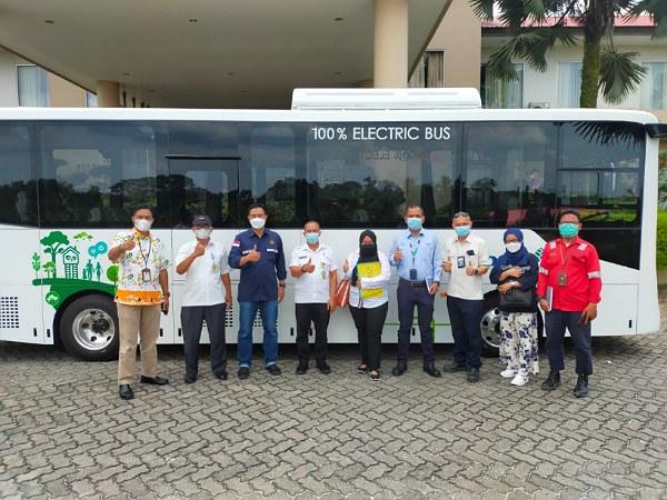 Dewan ESDM Apresiasi Bus Listrik PT RAPP