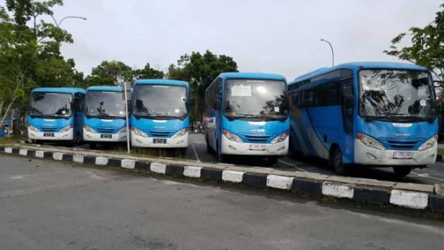 40 Unit Bus TMP Kembali Beroperasi