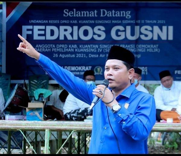 Demokrat Kuansing Antusias Sambut Musda IV Partai Demokrat Riau