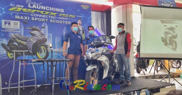Yamaha All New Aerox 155 Connected Ready di Riau, Harga Mulai Rp27,8 Juta hingga Rp31,3 Juta