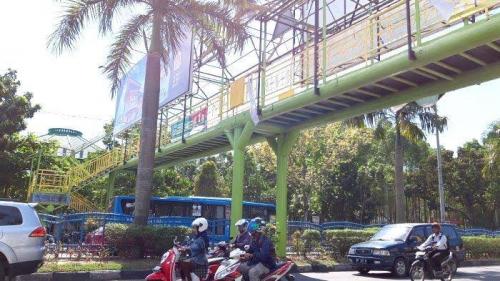 Pengelola Lima Jembatan Penyeberangan Orang di Pekanbaru Belum Serahkan Dokumen Hibah Aset ke Pemko