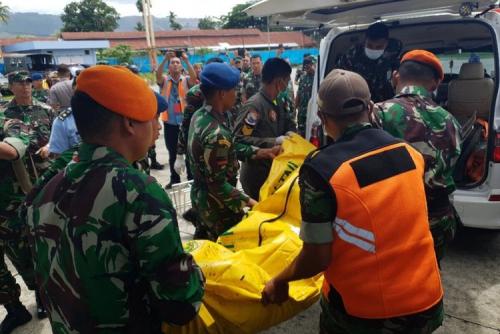 Jenazah 12 Prajurit TNI Korban Heli MI-17 Sudah Dievakuasi, 10 Senjata Api Tak Ditemukan