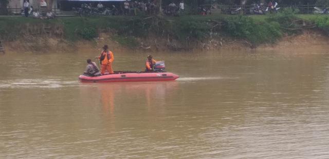 Begini Kronologis Tenggelamnya Bocah di Sungai Kuantan