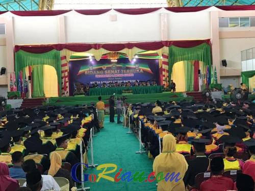 Unilak Luluskan 628 Wisudawan, Alumni Diminta Jaga Nama Baik Almamater