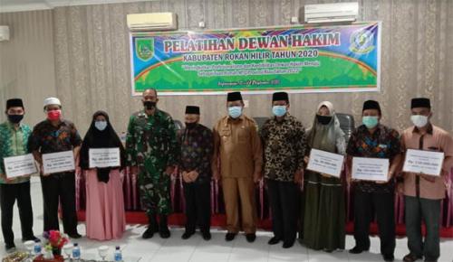 Bersiap Sebagai Tuan Rumah MTQ Riau, Rohil Gelar Pelatihan Hakim