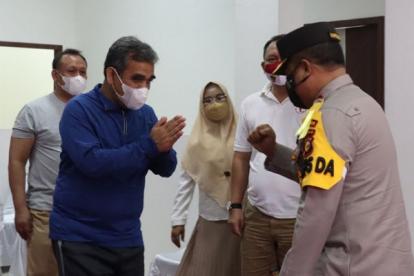 Vaksinasinya Lancar, Gerindra Sampaikan Terima Kasih pada Polda Riau