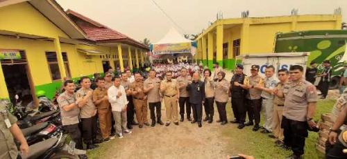 Gelar Baksos Kesehatan, Polda Riau Sediakan Kelas Aman Asap