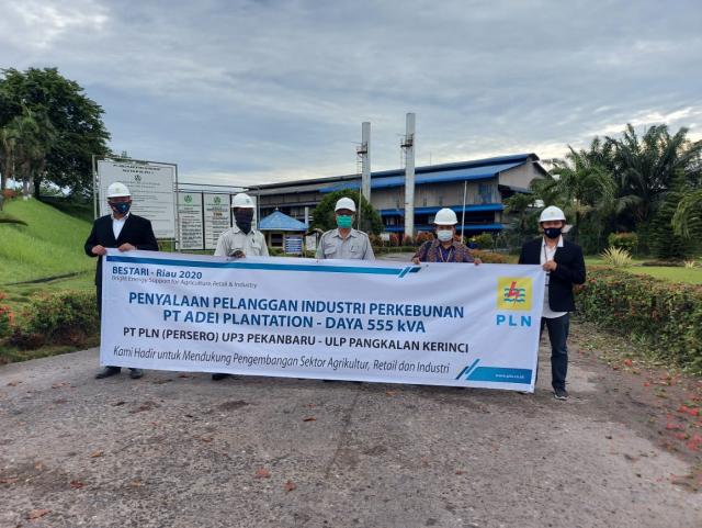 PLN UP3 Pekanbaru Berikan Solusi Kelistrikan Lewat Program Bestari Riau 2020