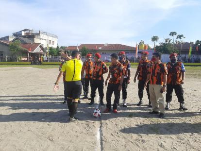 Peringati HUT Pemuda Pancasila, MPC PP Kota Pekanbaru Gelar Turnamen Sepakbola