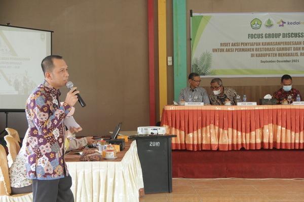 Kerjasama dengan BRGM-RI, PSB UR Gelar FGD Aksi Permanen Restorasi Gambut dan Rehabilitasi Mangrove