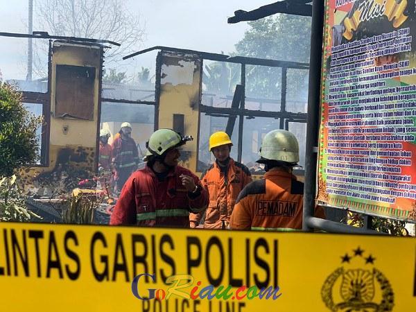 Kebakaran di SDN 118 Pekanbaru Terjadi Saat Belajar