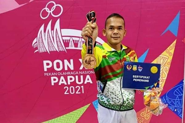 Ingatan Ilahi, Petinju Kuansing Sabet Emas di PON XX Papua