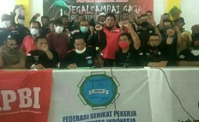 Kecewa Deklarasi Siap Laksanakan UU Cipta Kerja Digelar Perusahaan, Serikat Pekerja Pulp dan Kertas di Riau Protes