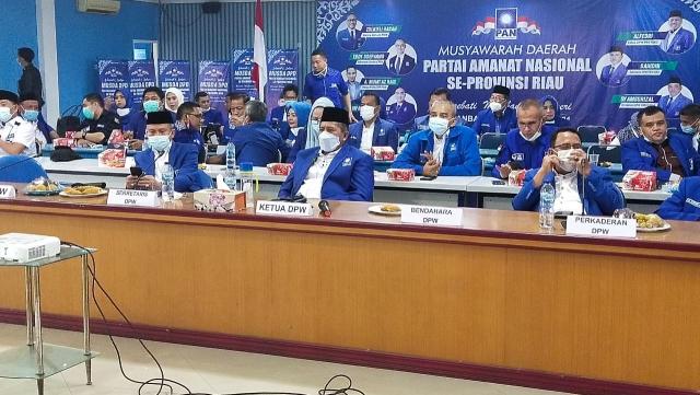 DPW PAN Riau Fasilitasi Musda PAN se-Riau, Ketua Formatur Otomatis Jadi Ketua DPD PAN
