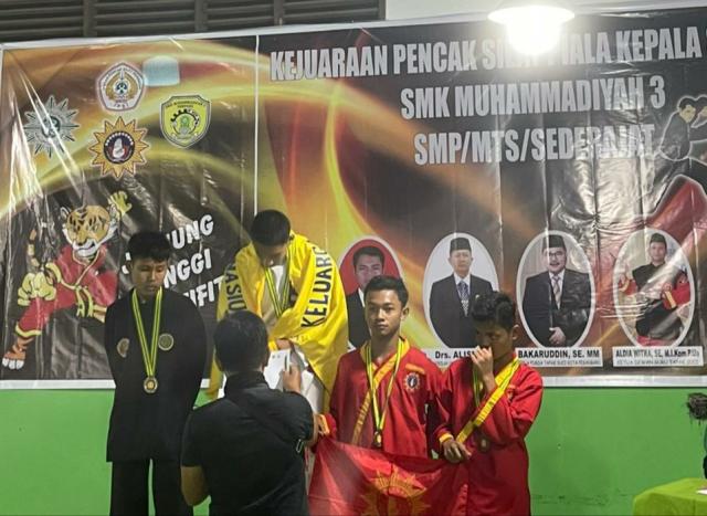 Farel Islami, Atlet Kepulauan Meranti Raih Medali Emas dan Dinobatkan Pesilat Terbaik
