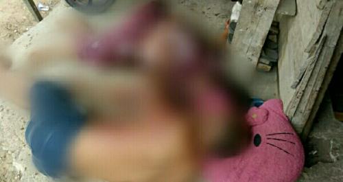 Tewas, Suami Istri di Pelalawan Saling Tikam di Depan Anak