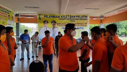 Andi Putra Janjikan Bonus untuk Atlet Kuansing yang Raih Medali di PON XX Papua 2021