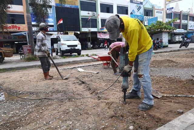 85 Persen Jalan di Kota Pekanbaru Rusak