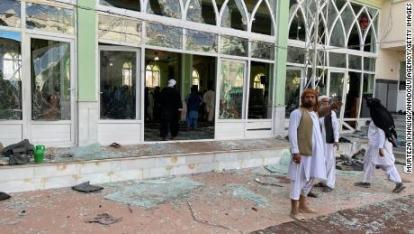 3 Bom Guncang Masjid Saat Shalat Jumat, 35 Jamaah Wafat, 68 Terluka
