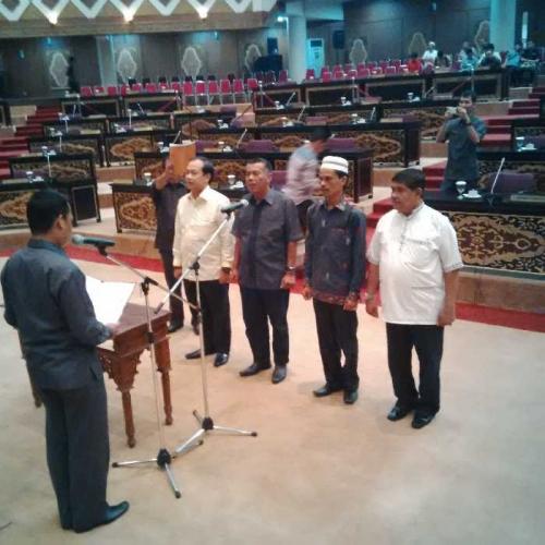 Empat Calon PAW Anggota DPRD Riau Ikuti Kegiatan Gladi Bersih Pelantikan