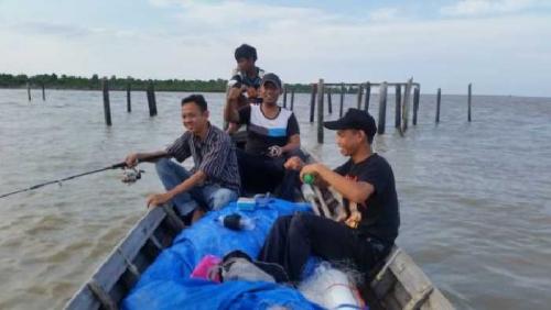 SMK Ankasa Inhil Buka Trip Wisata Pancing, Yuk Coba