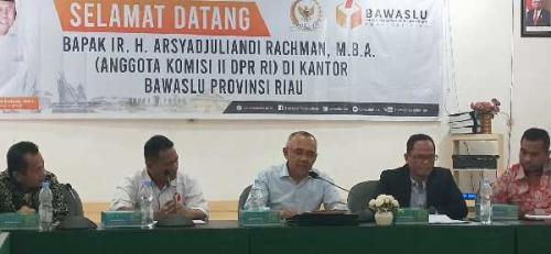 Pilkada 2020, Calon Walikota dan Bupati se-Riau Harus Hati-hati, 10 Pengawas akan Ditempatkan di Setiap Desa