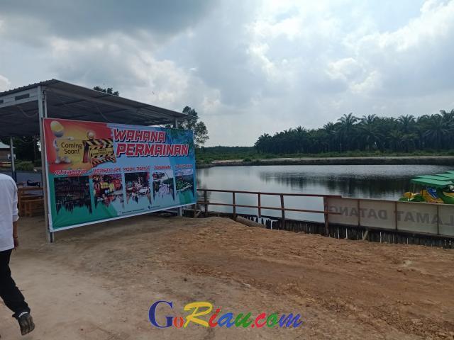 Kampung Dayun Memiliki Embung Terpadu untuk Bantu Tangani Karhutla di Siak