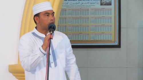 Polres Bengkalis Sukses Gelar Tabligh Akbar Menangkal Bahaya ISIS dan Radikalisme di Masjid Arafah