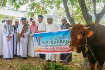 Tahun Ini, Masjid Agung An-Nur Riau Potong 20 Ekor Hewan Kurban