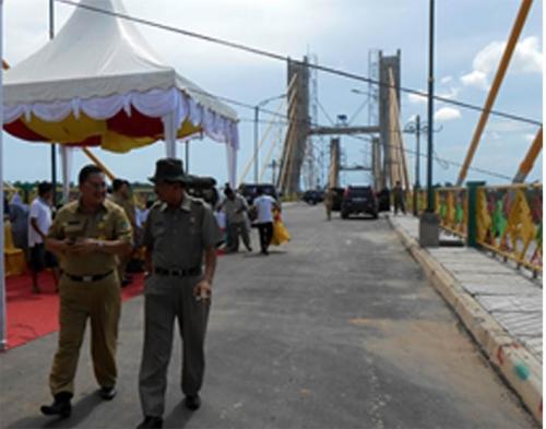 Kehadiran Jembatan Pedamaran Sudah Dirasakaan Manfaat oleh Masyarakat