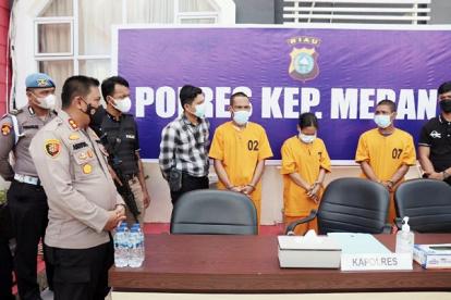 Polres Meranti Ungkap Kasus Curanmor, Anak Hantu Kembali Ditangkap