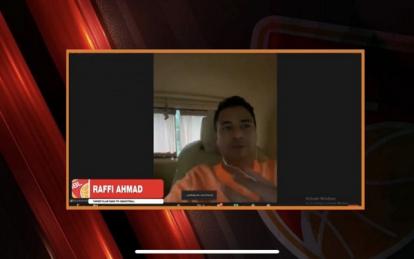 Raffi Ahmad Tuntaskan Dendam Akibat Gagal Jadi Atlet