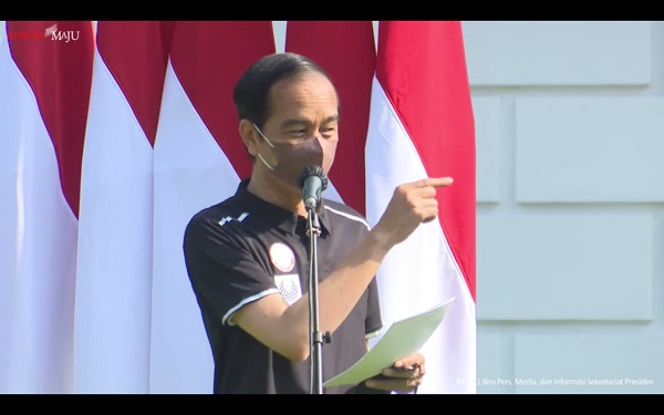 Apresiasi Perjuangan Atlet Paralimpiade Indonesia, Presiden Jokowi Berikan Bonus