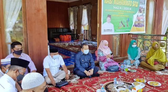 Bersama Bupati Irwan, Puluhan Hafiz Cilik Binaan Rumah Tahfiz Insan Qurani Peringati Maulid Nabi