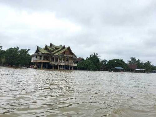 Banjir di Buluh Cina Lama Surut, Diperkirakan Bisa Memakan Waktu 3 Minggu hingga Sebulan